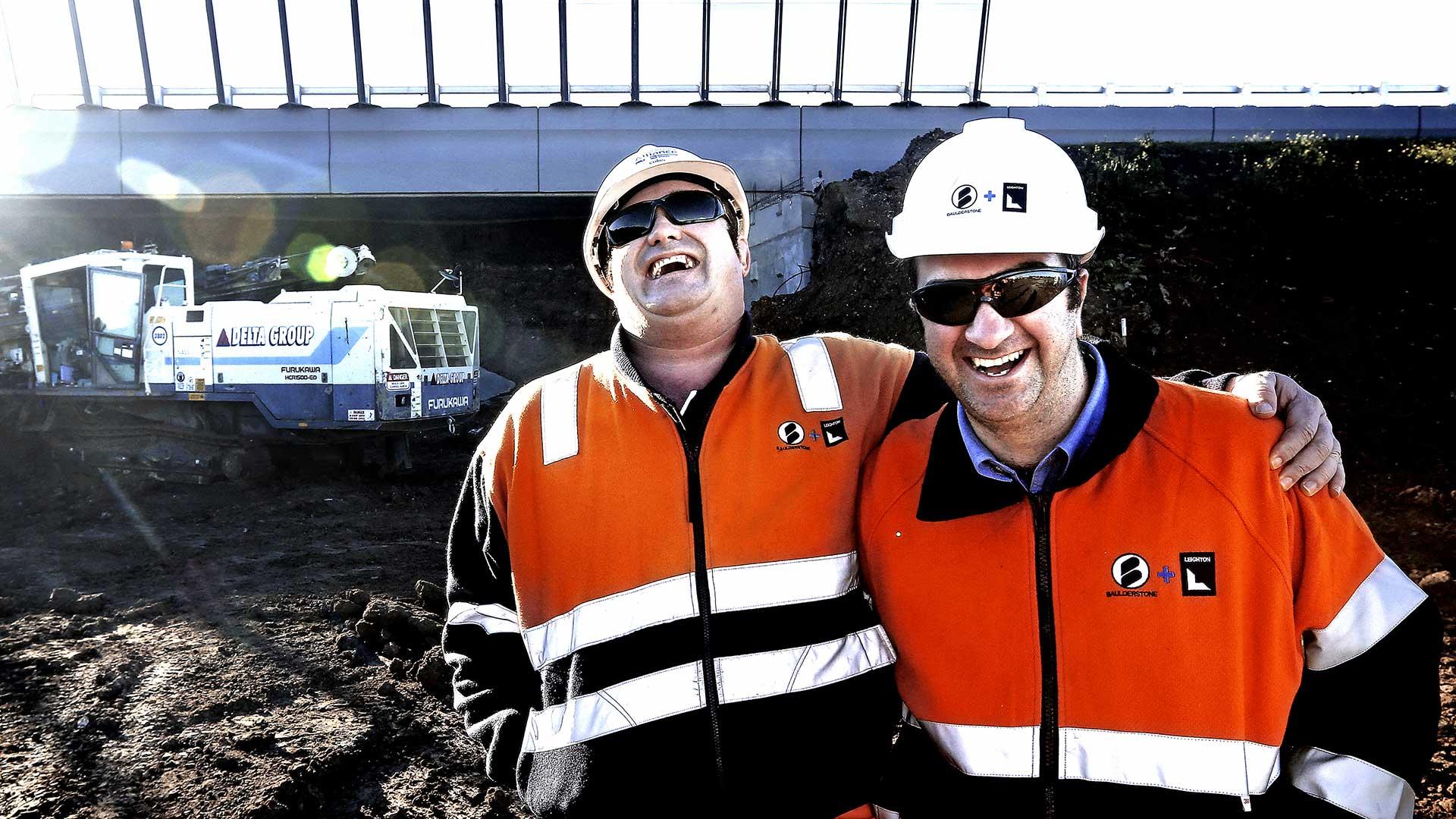 Pete Glenane. HiVis Pictures. Regional Rail Link.