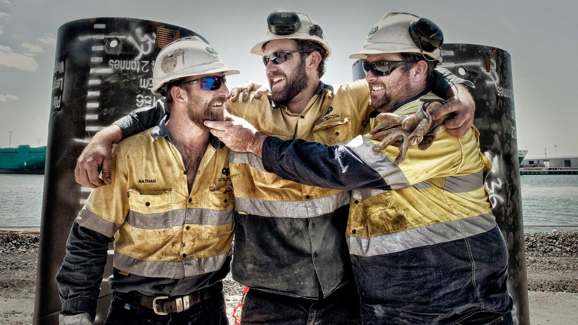 Pete Glenane. HiVis Pictures. Port of Melbourne Corporation.