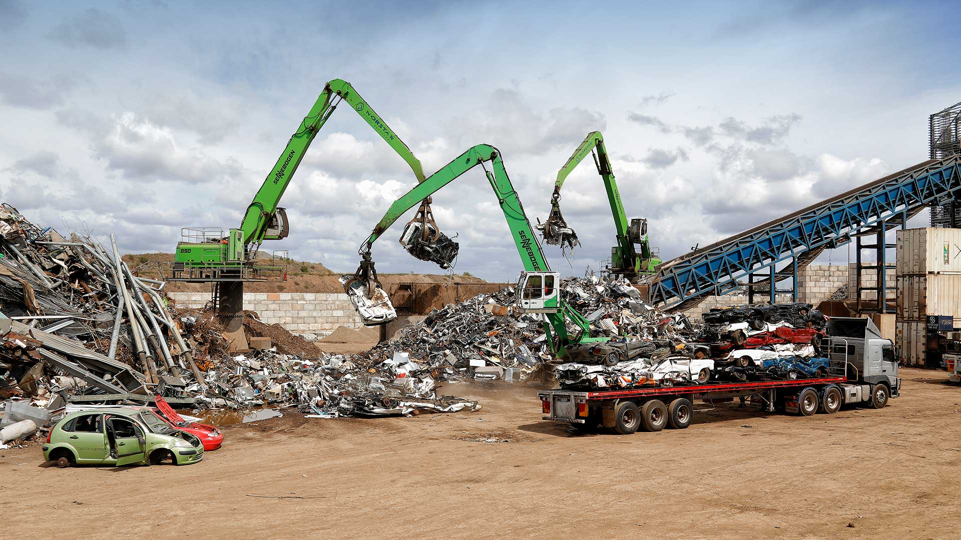 Pete Glenane. HiVis Pictures. Norstar Metal Recyclers.